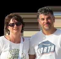 Christel & Fabrice Sanchis - Camping Le Haut Dick - Basse-Normandie