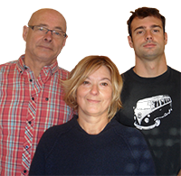 Patrice, Sylvie & Romain Beguet - Camping Walmone - Poitou Charentes
