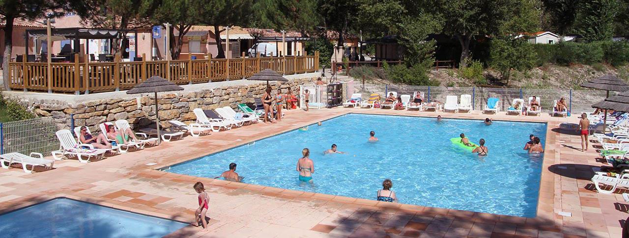camping la riviere piscine