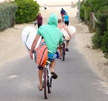 camping landes surf