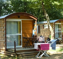 Campingplätze in Frankreich in einer Wohnwagen