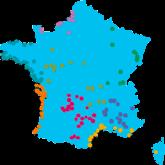 camping frankreich karte Campingplätze in Frankreich | Flower Campings in Frankreich