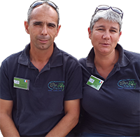 Pascale & Jean-Marie Chupin - Camping du Port Caroline - Pays de la Loire