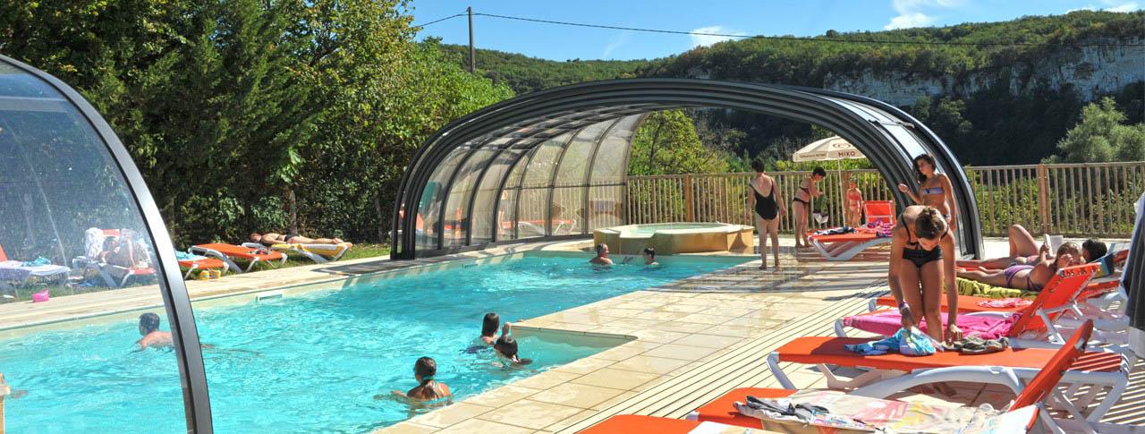 camping Le Sagne piscine couverte