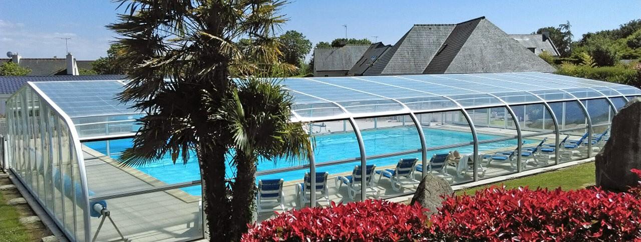 camping Kerleyou piscine extérieure chauffée