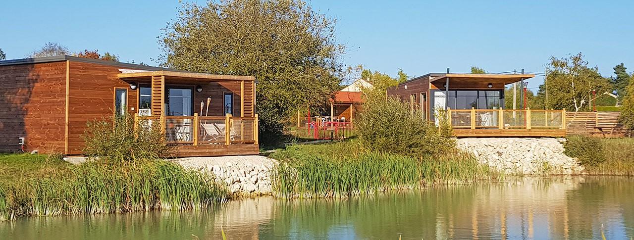 Les Lodges de Blois-Chambord cottage au bord de l'eau