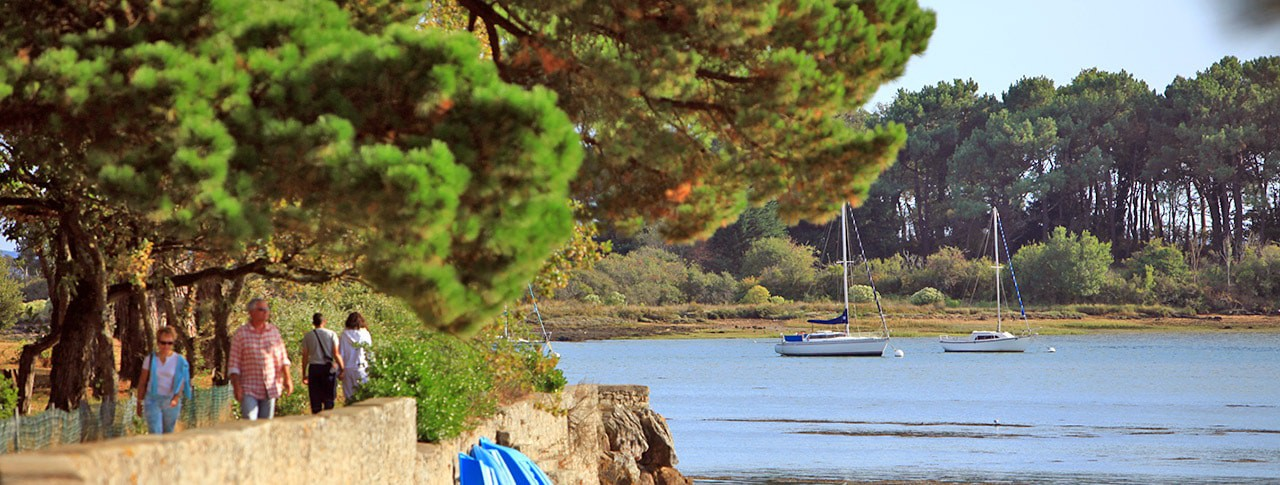 Camping Le Conleau - Vannes - Morbihan (Bretagne) in Frankreich