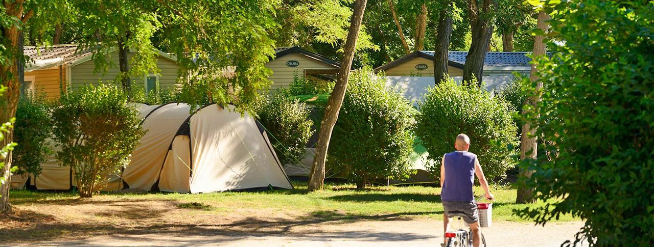 camping Les Portes de Sancerre emplacement