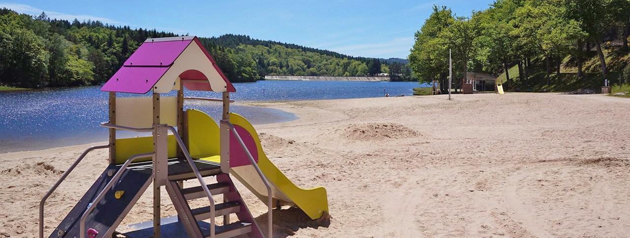 Camping La Plage lac