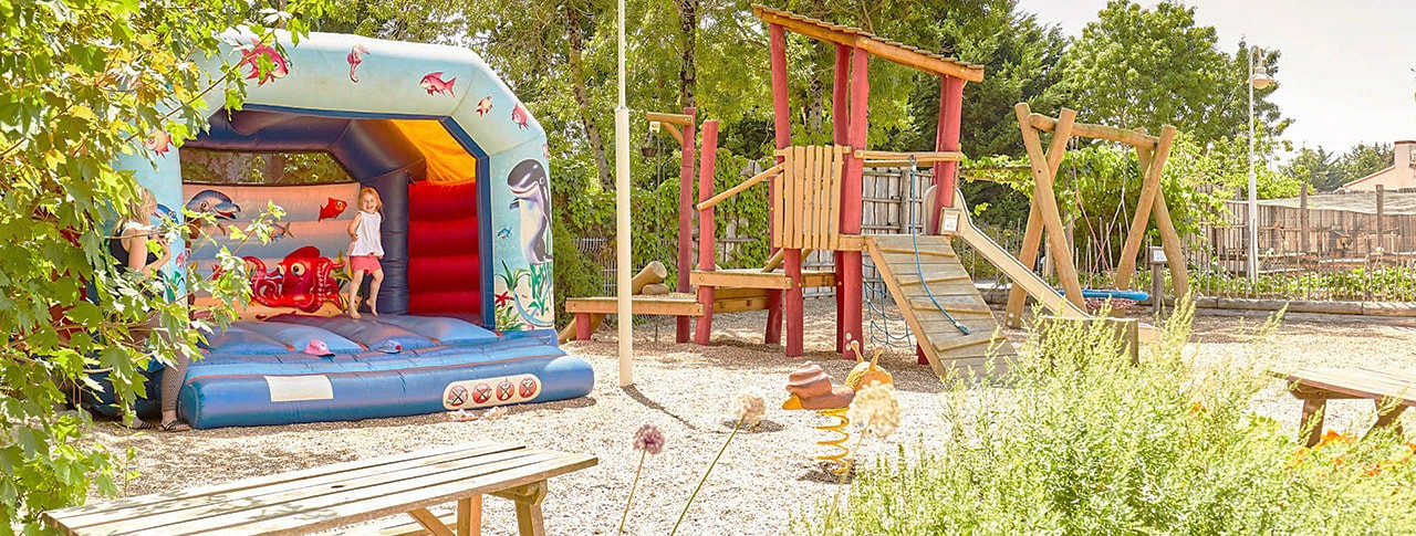 jeux camping la grand metairie vendee