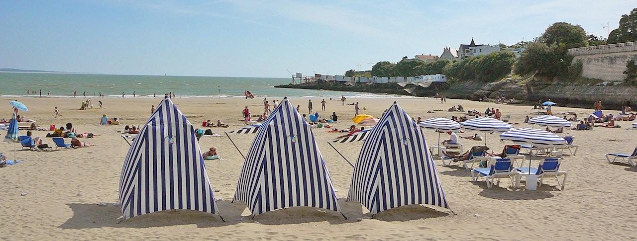 Camping Les Côtes de Saintonge plage