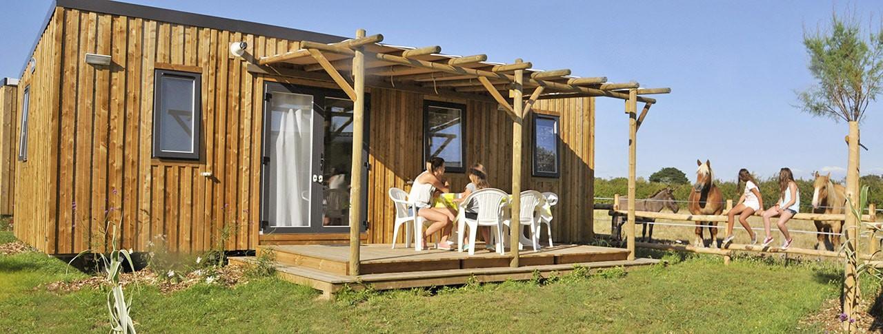 Camping Le Petit Paris Mobil Home Premium