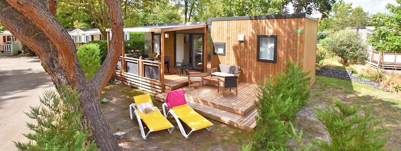 Mobil-home Biscarosse Camping Le Bimbo