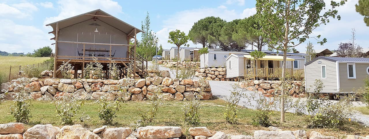 Camping Provence Vallée Mobil-homes Manosque