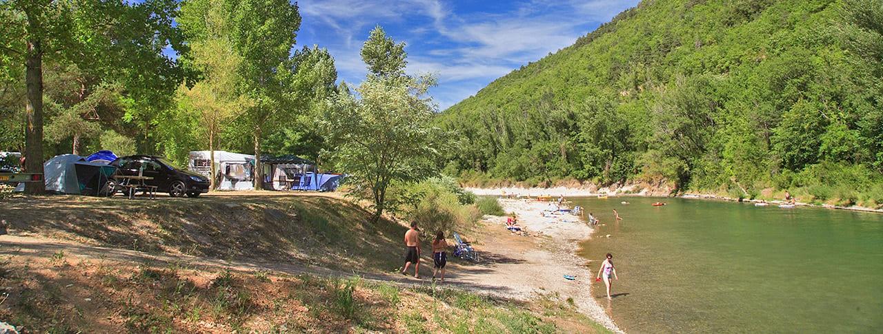 Camping Le Peyrelade Acces direct Rivière Tarn