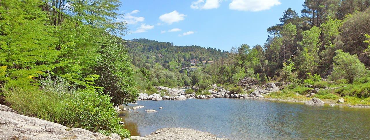 Camping Les Fauvettes rivière Gardon
