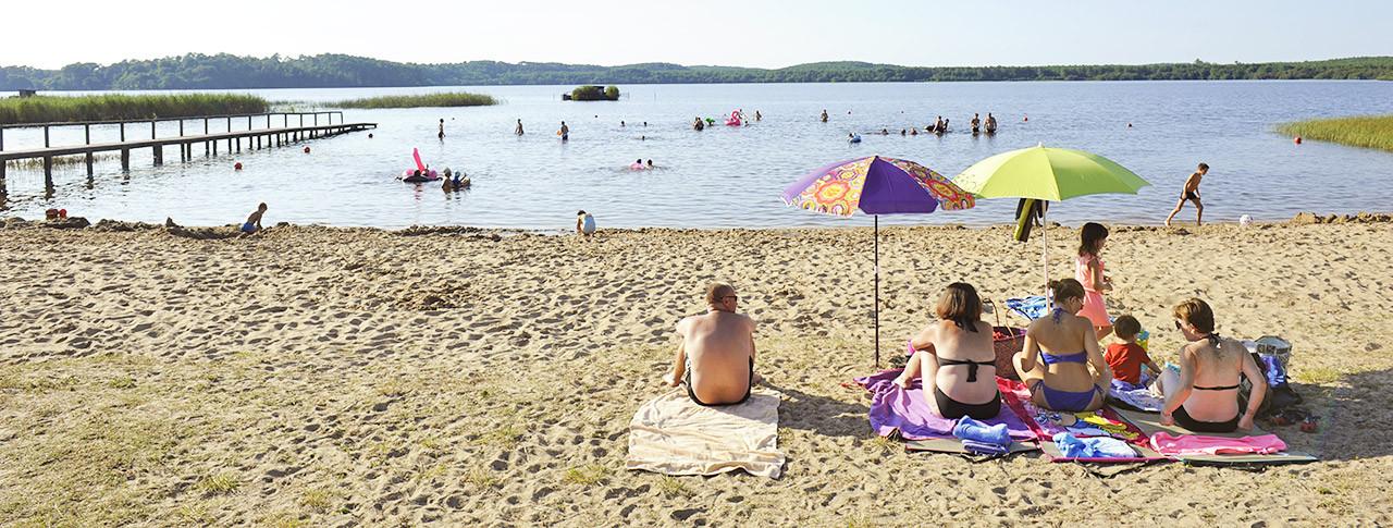 Camping La Clairiere Lac d'Aureilhan