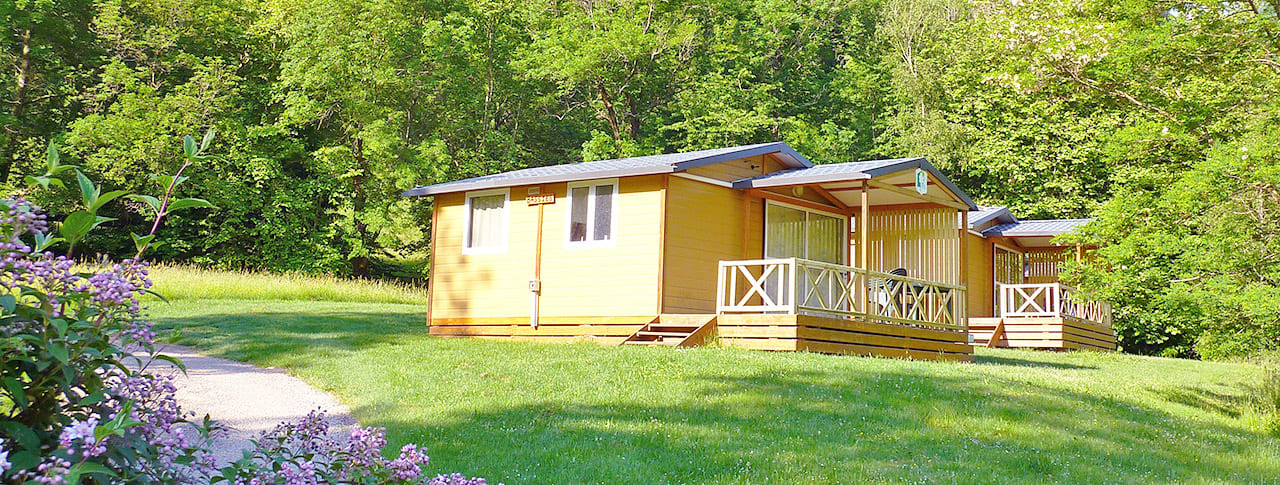 Camping La Bexanelle chalets vicdessos