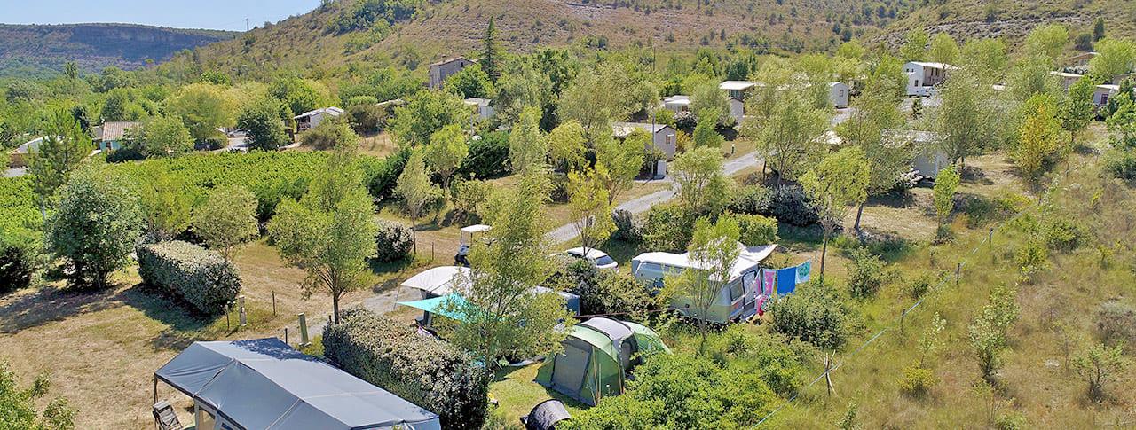 Camping Saint Amand emplacements tente caravane camping-car Ardèche