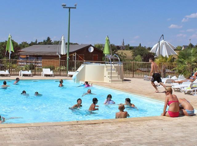 camping Lac de Bonnefon piscine-2