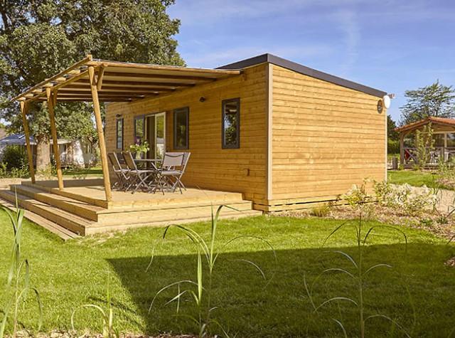 Mobil home & chalet Camping Lac de la Chausseliere-4