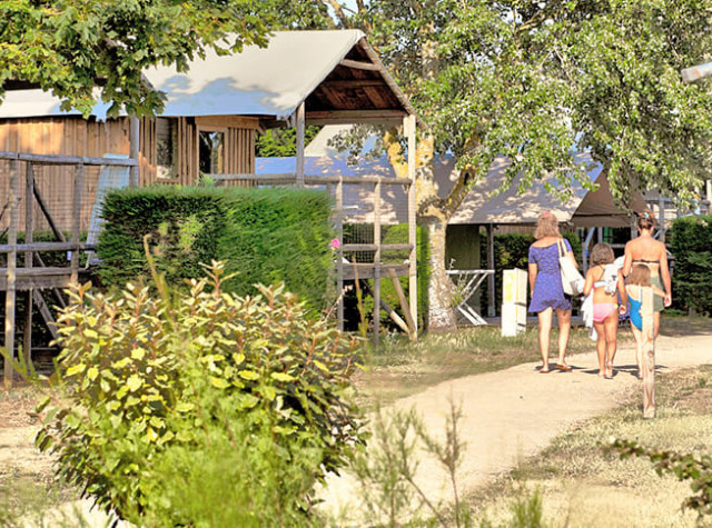 Camping Les Ilates cabane lodge ile de ré-2