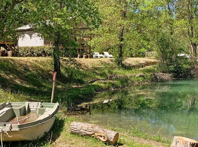 Camping La Rivière - Provence Alpes Côte d'azur