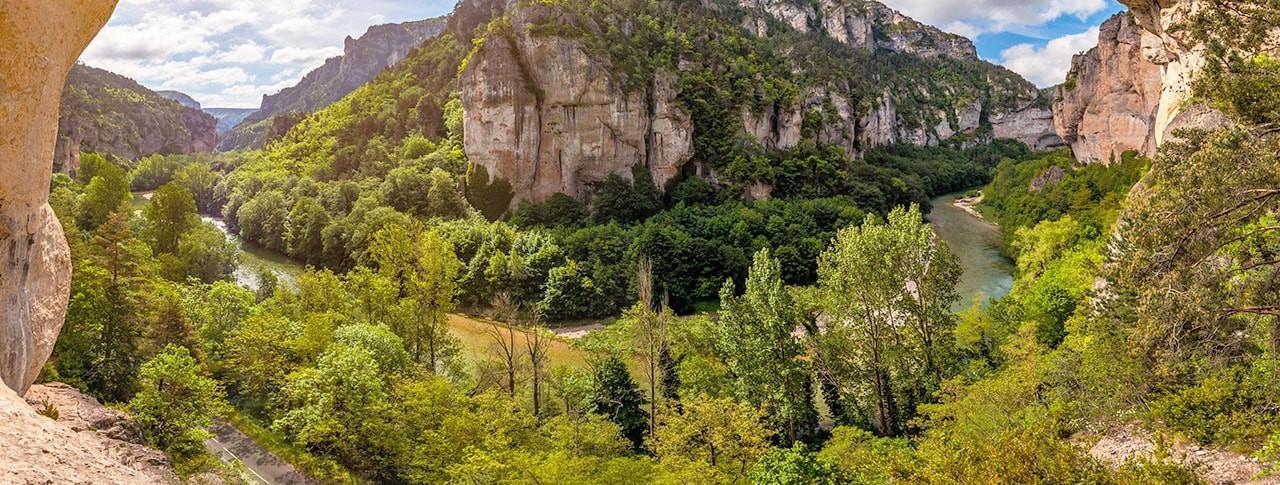 Camping en Lozère, Gorges du Tarn, Cévennes