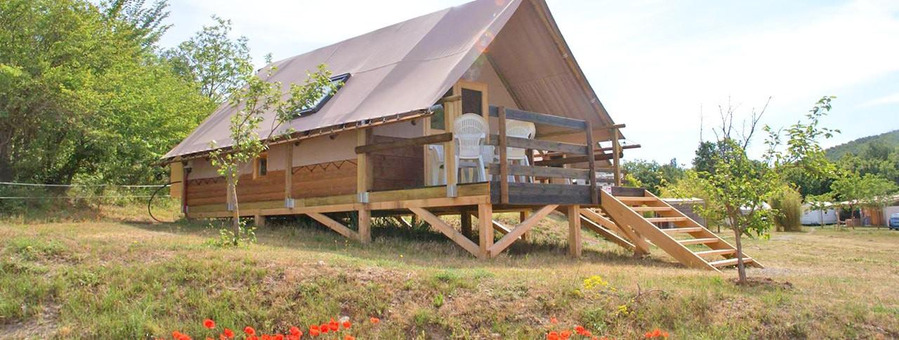 Location insolite en camping