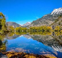 Camping Alpes près d'un lac