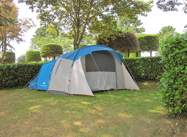 camping Les Capucines emplacement tente-6