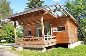 location chalet en camping
